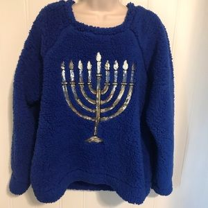 Women's Hanukkah sweater